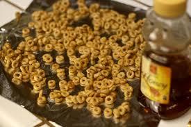 homemade honey nut cheerios
