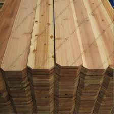 China Hot Sale Solid Board Dog Ear Cedar Fence Panels Price China Plywood Fj Board