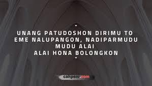 kata kata bijak bahasa batak yang sangat memotivasi terlengkap