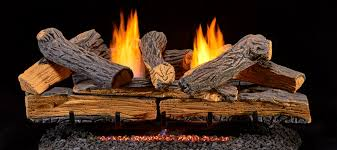 ventless gas logs vent free fireplace