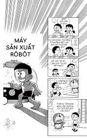 Truyện tranh Doremon - Tập 8 - Chương 6: Máy sản xuất Robot
