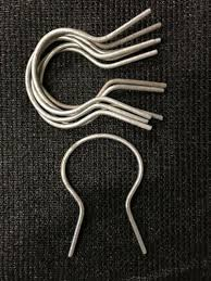 For 1 5 8 Chain Link Fence Tie 9 Gauge Ez Twist Ties 25 Prison Wire Ties Business Industrial Fencing Alberdi Com Mx