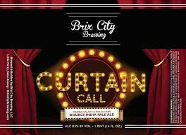 curtain call brix city brewing untappd
