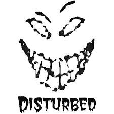 Disturbed Car Decal Sticker Ballzbeatz Com Aftermarket Decals Car Decals Decals Stickers