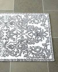 gray and white bathroom rugs blue rug