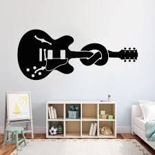 Guitar Wall Decal Musical Instrument Node Bass Strings Sticker For Music Classroom Vinyl Car Muals Home Decor Girls Bedroom Cheap Wall Murals And Decals Cheap Wall Sticker From Joystickers 8 96 Dhgate Com