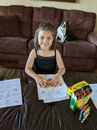 Sheltered at home, San Benito students study with homework packets |  BenitoLink