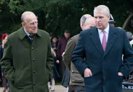 Prince Philip told Andrew to 'take his ...