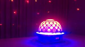 Đèn LED và Laser xoay nhiều màu trang trí Karaoke. Ms: T487 | Trang trí, Đèn  led, Karaoke