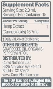 clic mint cbd oil hemp oil cured