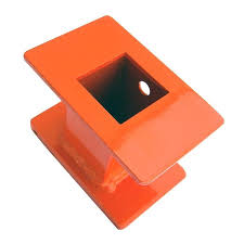 Ozco Ozco 40520 Oz Post T46 4 In X 6 In Hammer Spacer Orange 1 Per Pack In The Fence Tools Department At Lowes Com