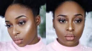 soft pink makeup look ft abh glow kit