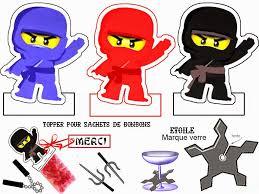 Ninjago Party: Free Printable Mini Kit.