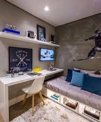 20 Gorgeous Small Kids Bedroom Ideas With Study Table Simple Bedroom Small Kids Bedroom Small Room Bedroom