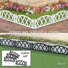 Picket Fence Plastic Garden Border Edging View Plastic Garden Border Edging Product Details From Ningbo Oxen Import And Export Co Ltd On Alibaba Com