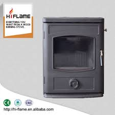 style wood burning stove and fireplace