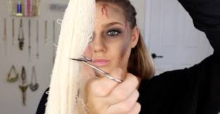 oh mummy this makeup idea is