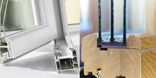 aluminium or wooden windows which is