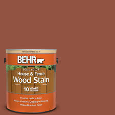 Behr 1 Gal Sc 130 California Rustic Solid Color House And Fence Exterior Wood Stain 03001 The Home Depot