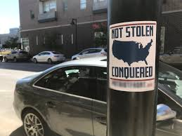 White Nationalist Hate Group Stickers Seen In Downtown Des Moines