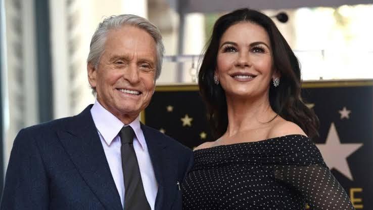 Michael Douglas dan Catherine
