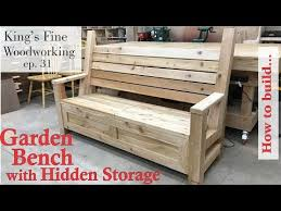 31 how to build garden bench with a