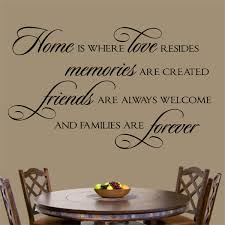 Wall Decal Home Love Resides Family Farmhouse Lettering