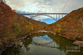 West Virginia Steel Arch Bridge Photograph by Adam Jewell