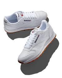 reebok men s classic leather sneakers