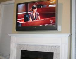 diy installing 46 inches lcd tv above