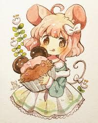Xem ảnh này của @mokarooru trên Instagram • 4,214 lượt thích   Cute anime  chibi, Kawaii anime, Anime chibi