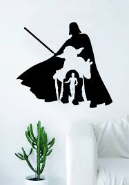 Star Wars Collage V2 Quote Decal Sticker Wall Vinyl Decor Art Room Tee Boop Decals