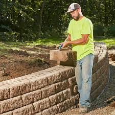 how to build a sy retaining wall