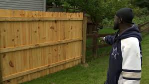 Fence Fiasco Family Left With Privacy Fence That Leaves Part Of Yard Uncovered Wsyx