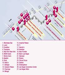 celebrity dolet las vegas strip map of