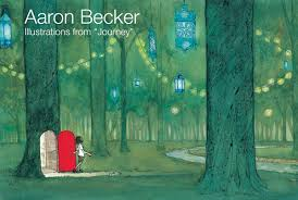 """Aaron Becker: Illustrations from """"Journey"""" - Hope & Feathers Framing and  Printing"""