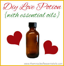 love potion blend with essential oils