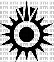 Star Wars Black Sun Emblem Decal 8023