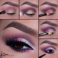 party makeup step by step pictures