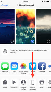 change the wallpaper on your iphone or ipad