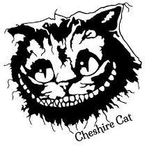 Cheshire Cat Vinyl Decal Sticker Car Window Wall Alice In Wonderland Smile Art Ebay