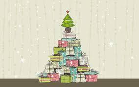 خلفيات العيد قوه موجهة عيد الميلاد شجرة الهدايا سنه جديده