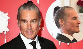 The Bold And The Beautiful's Ronn Moss ties his hair back for Melbourne Cup  | Daily Mail Online