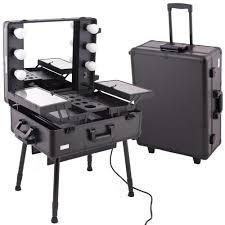nyx makeup artist train case with