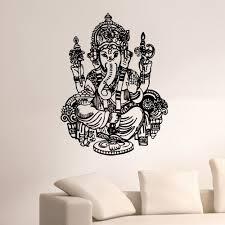 Shop Ganesha Vinyl Wall Art Decal Sticker Overstock 10597380