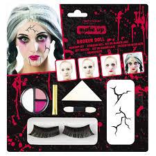 make up broken doll 8 pieces