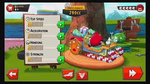 Angry Birds Go! Red Bird Terrence vs Bubbles in Subzero Xmas ...