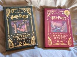 leather bound harry potter books