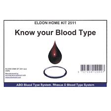 blood type test kit group a b rhd