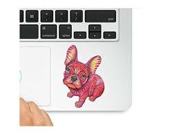 Cute Little Dog Macbook Trackpad Decal Sticker Laptop Compatible With Macbook Retina Macbook Air Macbook Pro Wicked Decals Wd 98066 Newegg Com
